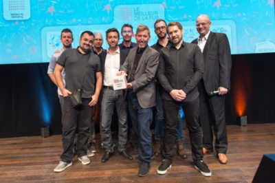 L'agence EtienneEtienne remporte le Prix Meilleur de la Pub 2018, catégorie Film Corporate / Vidéo Promotionnelle